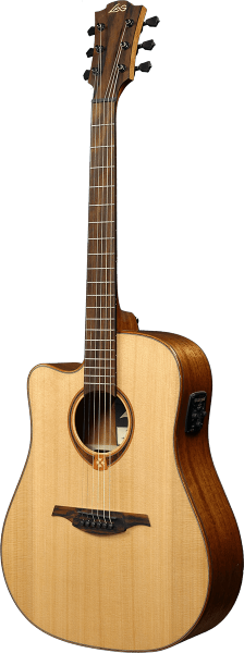 Guitare folk Lag Tramontane TL118DCE - natural