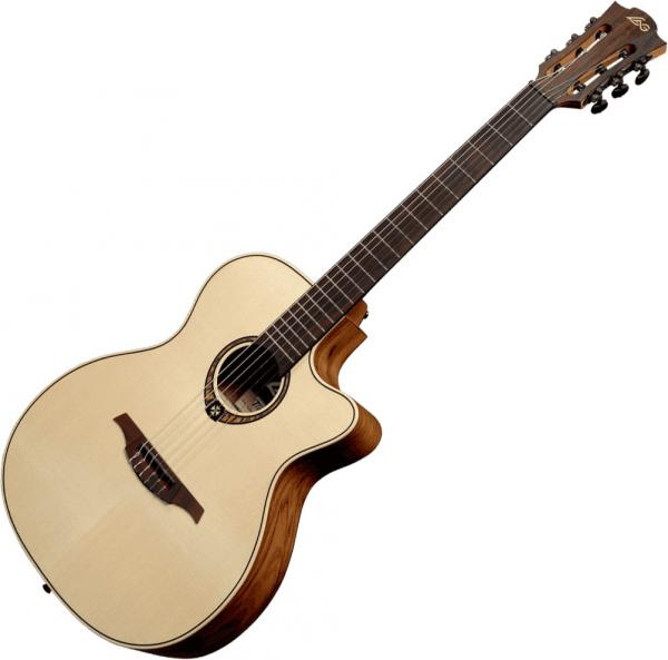 Guitare classique format 4/4 Lag TN270ACE Tramontane - Natural