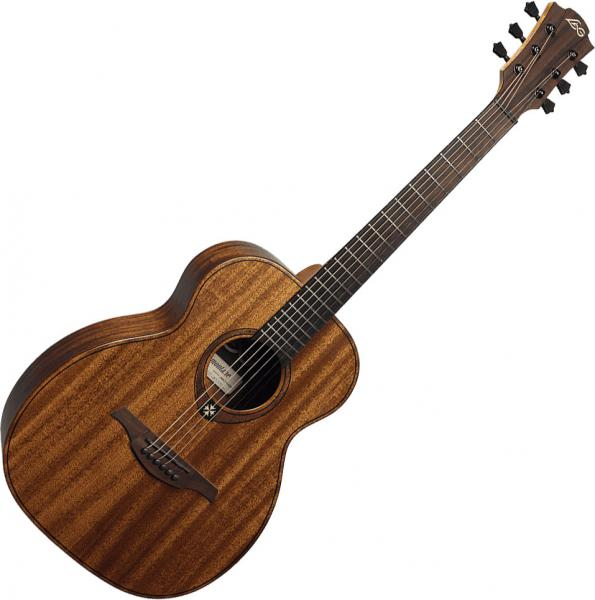 Guitare folk & electro Lag Tramontane Travel KA - Naturel Satin