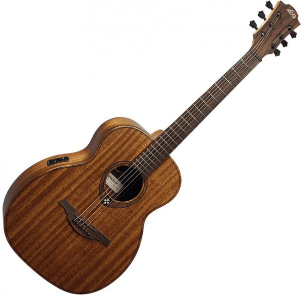 Guitare folk & electro Lag Tramontane Travel KAE - Naturel Satin