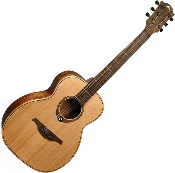 Guitare folk & electro Lag Tramontane Travel RC - Naturel Satin
