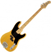 Basse électrique solid body Lakland Skyline 44-51M Split Coil (MN) - Butterscotch