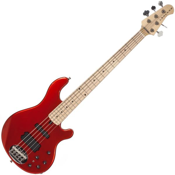 Basse électrique solid body Lakland 55-14 USA Classic (MN) - Candy apple red