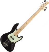 Basse électrique solid body Lakland Skyline 55-60 5-String (MN) - Black