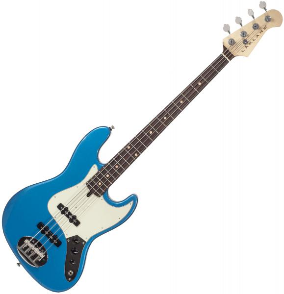 Basse électrique solid body Lakland Adam Clayton 44-60 USA - Lake placid blue