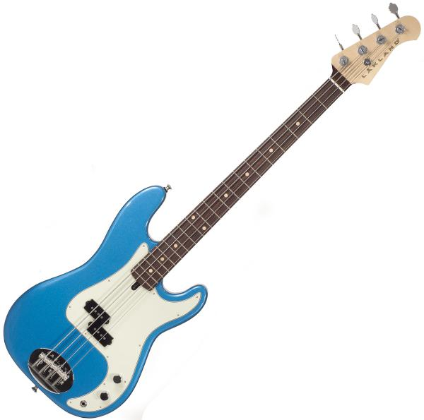 Basse électrique solid body Lakland Adam Clayton 44-64 USA - Lake placid blue