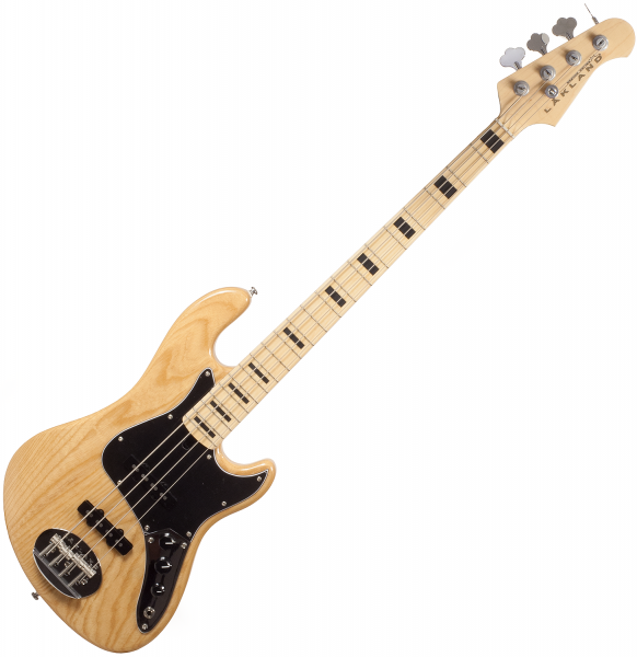 Basse électrique solid body Lakland Skyline Daryl Jones DJ-4 (MN) - Natural