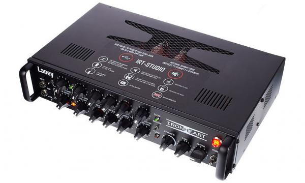 Tête ampli guitare électrique Laney Ironheart IRT-STUDIO Rackmount Guitar Head