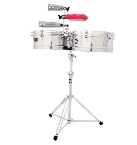 Timbales Latin percussion LP 1415 S
