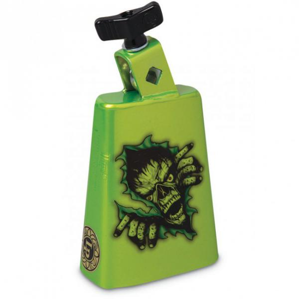 Cloche Latin percussion LP204CZMG  Cowbell Zombie Green