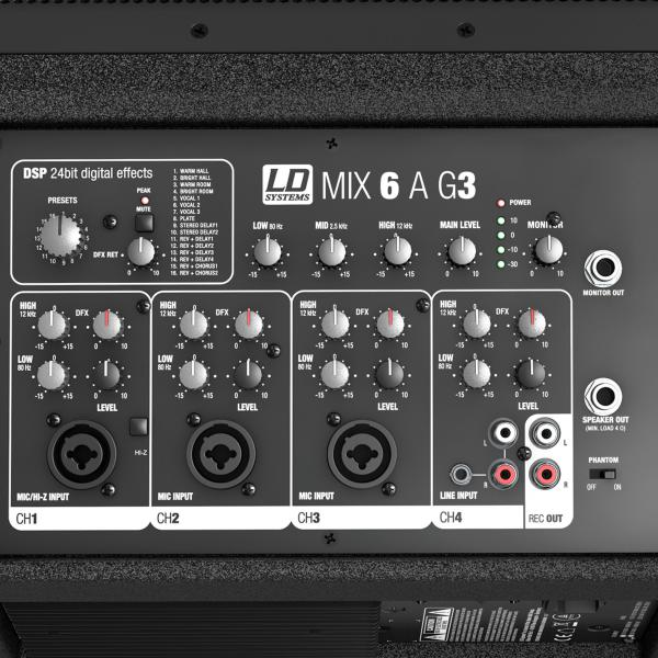 Sono portable Ld systems Mix 6 A G3