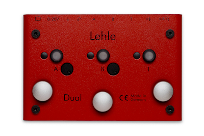 Footswitch & commande divers Lehle DUAL SGOS