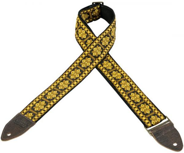 Sangle courroie Levy's M8HTV-17 Hootenanny Jacquard Guitar Strap
