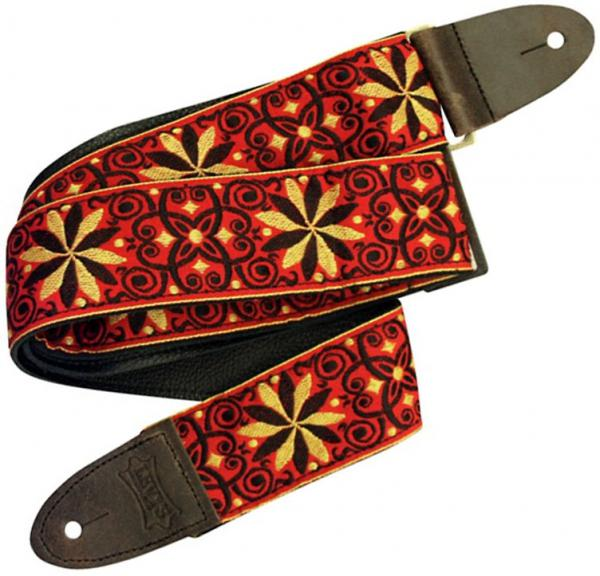 Sangle courroie Levy's M8HTV-21 Hootenanny Jacquard Guitar Strap