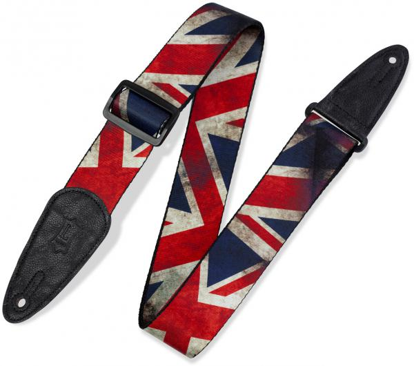 Sangle courroie Levy's MDP-UK Polyester Guitar Strap