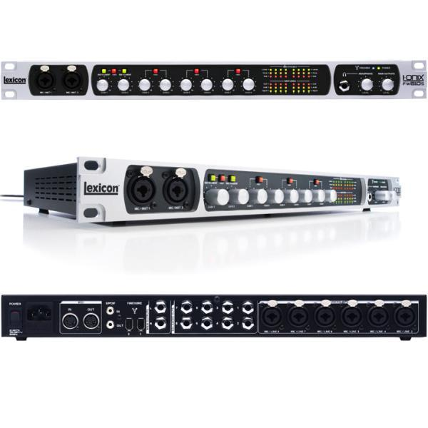 Interface audio firewire Lexicon IONIX FW810S