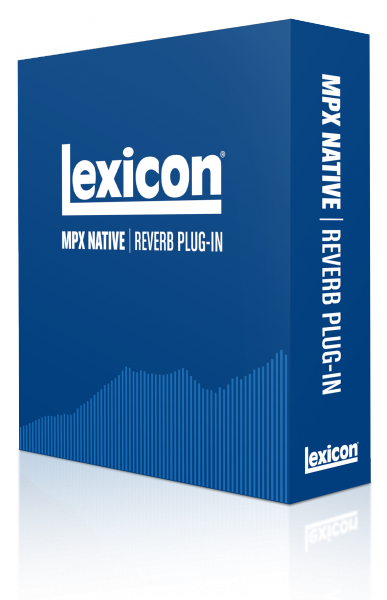 Plug-in effet Lexicon MPX Native Reverb