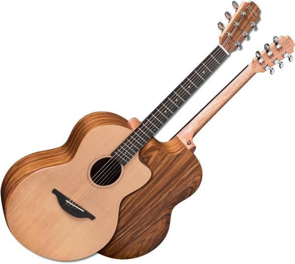 Guitare folk Sheeran by lowden S03 +Bag - natural satin