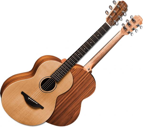 Guitare folk & electro Sheeran by lowden W03 +Bag - Natural satin
