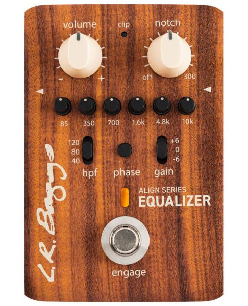Preampli acoustic Lr baggs Align Equalizer Acoustic Preamp
