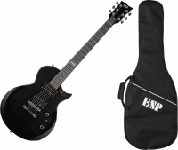 Guitare électrique solid body Ltd EC-10 Kit +ESP bag - Black