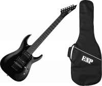 Guitare électrique solid body Ltd MH-17 Kit +bag - Black