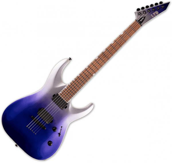 Guitare électrique solid body Ltd MH-400NT - violet pearl fade metallic