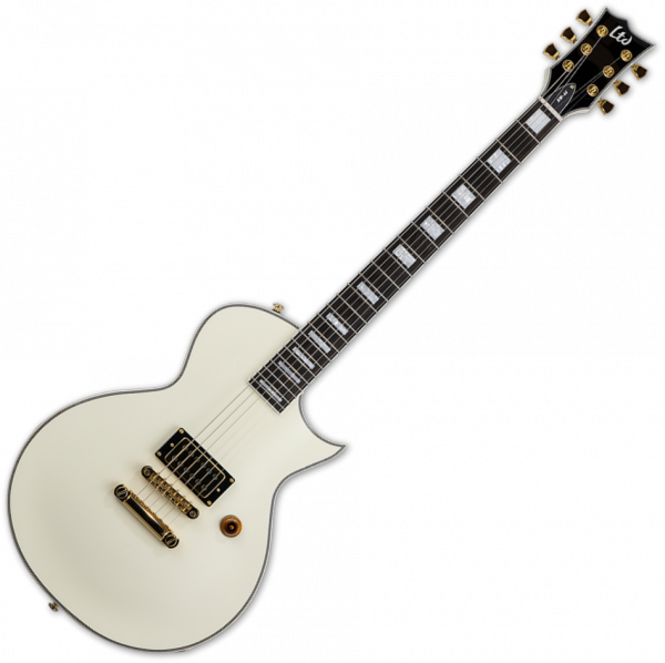 Guitare électrique solid body Ltd NW-44 Neil Westfall Signature ADTR - Olympic white