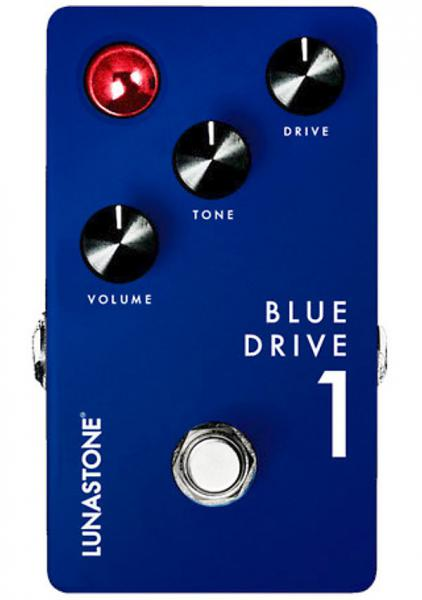 Pédale overdrive / distortion / fuzz Lunastone Blues Drive 1