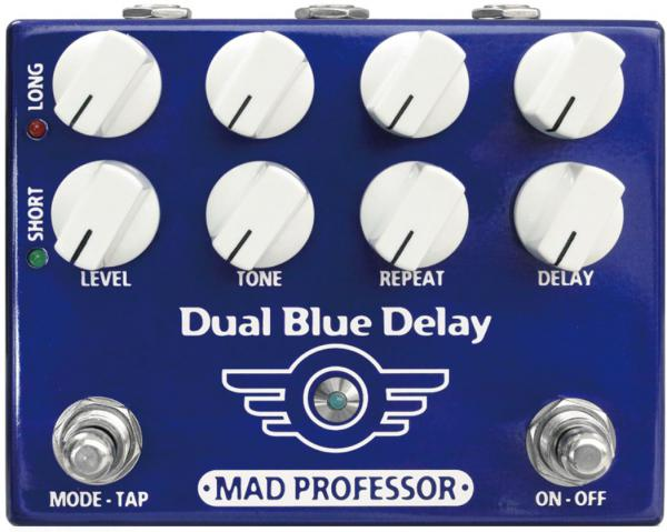 Pédale reverb / delay / echo Mad professor                  Dual Blue Delay