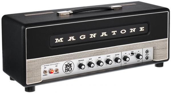 Tête ampli guitare électrique Magnatone Super Fifty-Nine M-80 Head