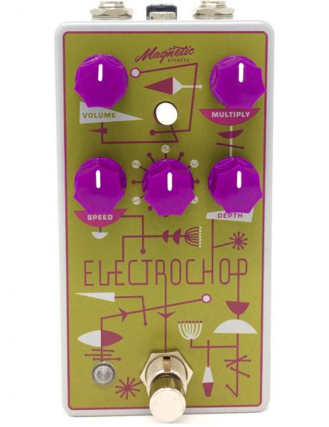 Pédale chorus / flanger / phaser / modul. / trem. Magnetic effects Electrochop Optical Tremolo