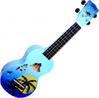 image Designer MD1HABUB Soprano +Bag - Hawaï blue burst