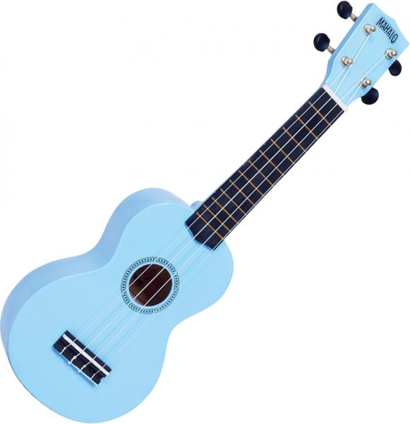 Ukulélé Mahalo MR1 Rainbow Soprano +Bag - Sky blue gloss