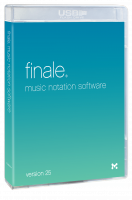 Editeur de partitions Make music Finale 25