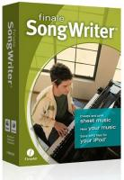 Editeur de partitions Make music Finale Songwriter