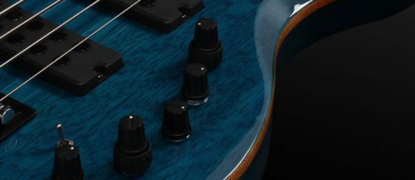 Basse électrique solid body Marcus miller M2 4ST 2nd Gen (MN, No Bag) - trans blue