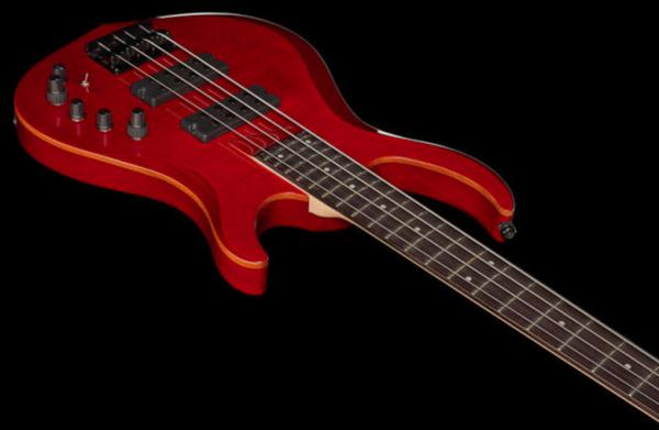 Basse électrique solid body Marcus miller M3 4ST STR (No Bag) - see through red
