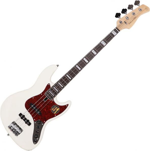 Basse électrique solid body Marcus miller V7 Alder 4ST 2nd Gen (No Bag) - antique white