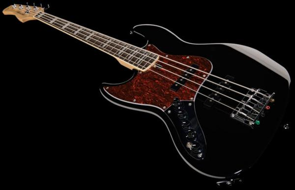 Basse électrique solid body Marcus miller V7 Alder 4-String 2nd Gen Gaucher (No Bag) - black