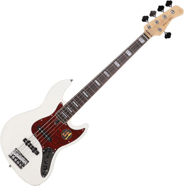 Basse électrique solid body Marcus miller V7 Alder 5ST 2nd Gen (No Bag) - antique white