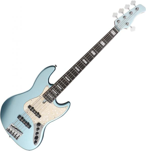 Basse électrique solid body Marcus miller V7 Alder 5ST 2nd Gen (No Bag) - Lake placid blue