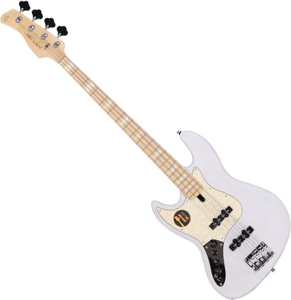 Basse électrique solid body Marcus miller V7 Swamp Ash 4ST 2nd Gen Gaucher (No Bag) - white blonde