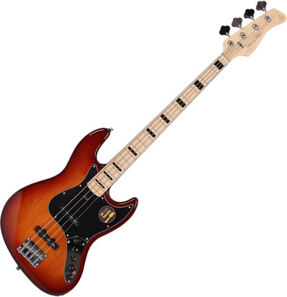 Basse électrique solid body Marcus miller V7 Vintage Alder 4ST 2nd Gen (No Bag) - Tobacco sunburst