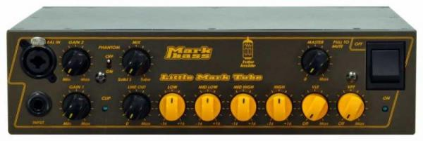 Tête ampli basse Markbass Little Mark Tube 500