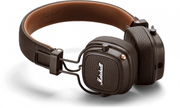 Casque studio & dj Marshall MAJOR III Bluetooth brown