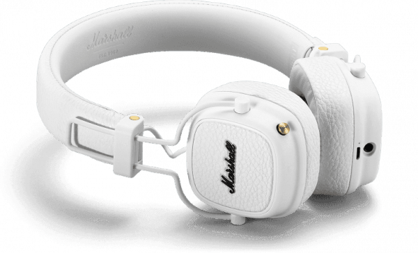 Casque studio & dj Marshall MAJOR III Bluetooth White