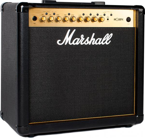 Combo ampli guitare électrique Marshall MG50GFX GOLD Combo 50 W