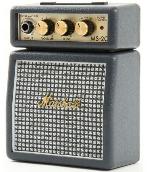 Mini ampli guitare Marshall MS-2 Classic