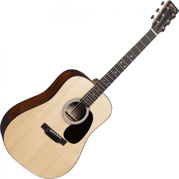 Guitare folk Martin guitar D-12E Road +Bag - natural